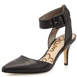Sam Edelman Okala Ankle Strap Point Toe Pump Heel